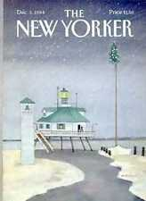 New Yorker COVER 12/03/1984 - Snowy Christmas - DAVIS