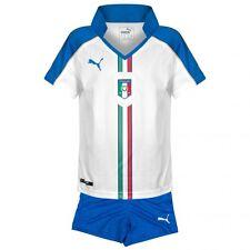 Puma Italy boys away football kit 5-6 years new shirt+shorts 2015-2016