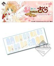 Banpresto Ichiban Kuji Cardcaptor Sakura Clow Card Prize E Nail Art Seal Sticker