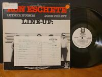 RON ESCHETE - LINE-UP 1981 Muse Records Vinyl LP Jazz Guitar Promo VG+