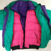 NWT VINTAGE WOOLRICH 3-IN-ONE Winter Quilted DOWN Puffer Jacket REVERSIBLE