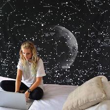 Constellation Moon Tapestry Space Planet Galaxy Mandala Bedspread Wall Decor