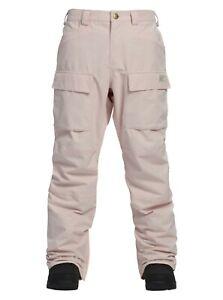 Analog Mortar Snowboard Pants -LARGE- 20623100650 Pale Light Crystal Pink Burton