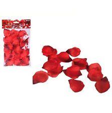 Rote Rosenblütenblätter - ca. 150 Stück, künstliche Rosenblätter, Streudeko