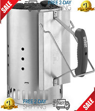 Bar-B-Que Accessories Weber Grill Charcoal Chimney Gas Charbroil Outdoor Propane
