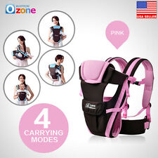 A+ Adjustable Newborn Infant Baby Carrier Comfortable Wrap Rider Sling Backpack