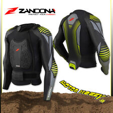 PETTORINA CROSS ENDURO QUAD MTB ZANDONA' SOFT ACTIVE JACKET PRO X7 TAGLIA L
