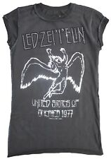 AMPLIFIED LED ZEPPELIN Strass USA TOUR 77 Rock Star Vintage ViP T-Shirt g.XS 36