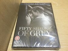 Fifty Shades of Grey Unseen Edition DVD New & Sealed