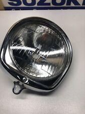 Suzuki F50 F70 80 Early  Moped Headlamp Assembly, No Wiring. 35100-19021-999