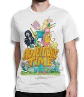 Adventure Time Tee, Cartoon T-shirt, Men's Women's All Sizes