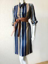 ESCADA COUTURE Silk Dress Vintage EU36, 1980s shirt dress women