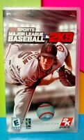 Brand New Sealed  - mlb 2k9 BASEBALL Sony PSP Game Playstation Portable