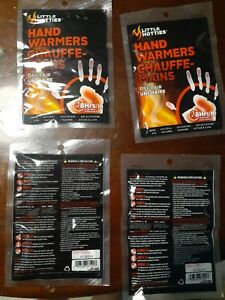 Hand Warmers Little Hotties (lot of 4) Four Twin Packs Brand New Expires 7/2024