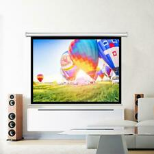 100 Hd Pull Down Manual Projection Projector Screen