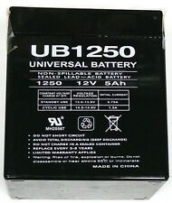 1 x UPG UB1250 12 V 5000 mAh Rechargeable Batteries