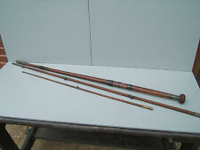 Farlow Farlow's Salmon fishing rod 3 piece vintage/antique very old 9ft 6in