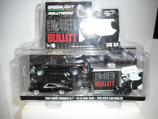 DODGE CHARGER R/T´68 + RAM 2500´16 + ENCLOSED HAULER BULLITT GREENLIGHT 1/64