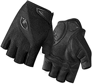 New Giro Bravo Gel Gloves Adult Cycling Gloves Small Black