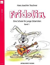 Fridolin-Band-1-Gitarrenschule für junge Gitarristen  N2020 Heinrichshofen