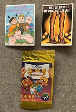 "1991 Garbage Pail Kids ""Sgorbions Greeting Cards"" Lot of 2 Scratch & Stink"