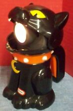 Little Tikes Halloween Black Cat Flashlight Trick or Treating Meows Works Good