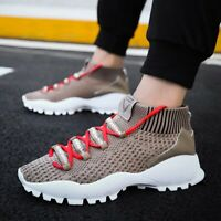 Men's Fashion Casual Shoes Ultralight Sports Sneakers Athletic Sock-Like Youth