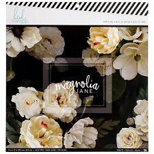 Heidi Swapp Magnolia Jane Collection 12 x 12 Paper Pad 313724  2017