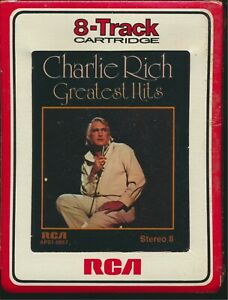 8 Track Tape - Charlie Rich - Greatest Hits - RCA APS1-0857 - NEW SEALED NOS
