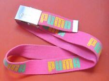 """Pink Puma Web Belt 40"""" x 1.5"""""""