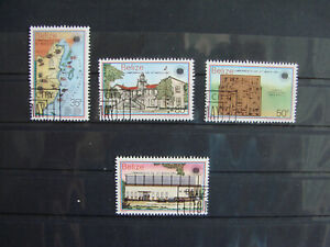 BELIZE 4 USED STAMPS 1983