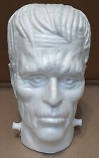 "Halloween Foam Head Shape Floracraft Frankstein 6.6 x 6"" x 9.6"" Kids Crafts 127F"