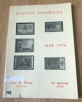 BIlletes Espanoles by Jose Vicenti - 7th Seventh Edition 1974