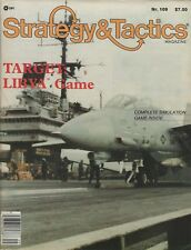 Strategy & Tactics S&T#109 Target Libya - US invasion of Libya 1980's Unpunched