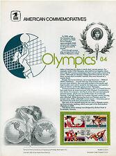 #C109-12 35c Olympics  USPS Cat. #203 Commem Panel