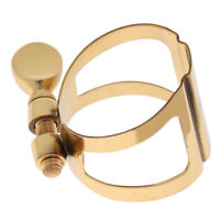 Metal Soprano Sax Saxophone Mouthpiece Ligature Clip for Wind Woodwind Parts