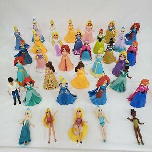 Lot of Over 30 Disney Princess Magiclip Magic Clip Dolls Prince Eric