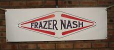 Frazer Nash Grande LAVORO IN PVC NEGOZIO Banner Garage