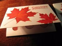 Canada 2010 Special Edition Very Rare With Magnetic Penny Proof Like Set.