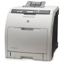 HP Colour LaserJet 3600n 3600 Network Ready Desktop A4 Laser Printer No Toners