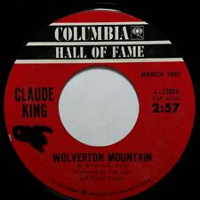 "CLAUDE KING Wolverton Mountain b/w Sam Hill 433076 7"" 45rpm Vinyl VG++"
