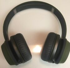 Monster NTune N-Tune HD On-Ear Headphones w/Remote Headset Matte Military Green