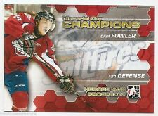 10/11 ITG HEROES & PROSPECTS MEMORIAL CUP CHAMPIONS Cam Fowler #MC5