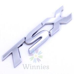04-08 ACURA TSX Trunk Lid EMBLEM Script Badge OEM Ornament Mascot 05 06 07 Rear