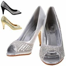 Synthetic Stiletto Peep Toes Special Occasion Women's Heels