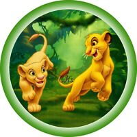 Lion King 7 Inch Edible Icing/ Wafer Cake & Cupcake Toppers/ Party / Birthday