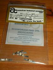(5) ATC RF 1.5pF Capacitors Tol C 100B1R5CMS