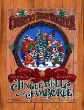 Tin Sign  Disney Country Bear Jingle Bell Jamboree Attraction Ride Poster Art