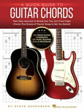A Quick Guide to Guitar Chords No Prior Guitar Experience or Reading 000283645