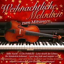 Weihnachtliche Melodien Zum Mitsingen von Klavier & Violine Spielen (2016)